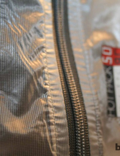 One jacket is made with yarns measuring nearly 60km