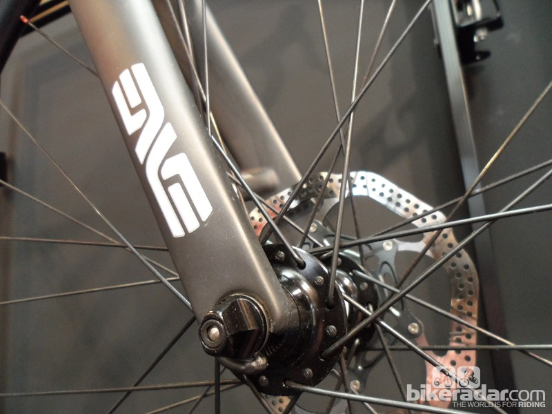 The Colossal comes with Enve's new road-specific disc fork. Salsa helped with the development of this top-notch design