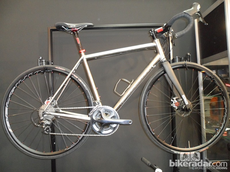 Salsa's new titanium disc-equipped road bike, the Colossal