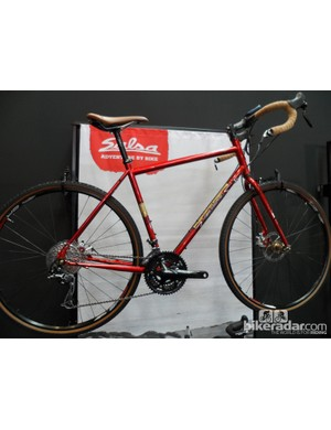 The classy steel Vaya Traveller starts from just £1,300 for this Sora model, and £1,600 for a SRAM Apex equipped version