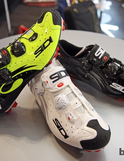 The new Sidi Wire Vent Carbon shoes will be offered in a number of colors but, sadly, not all of them will be available in all markets worldwide