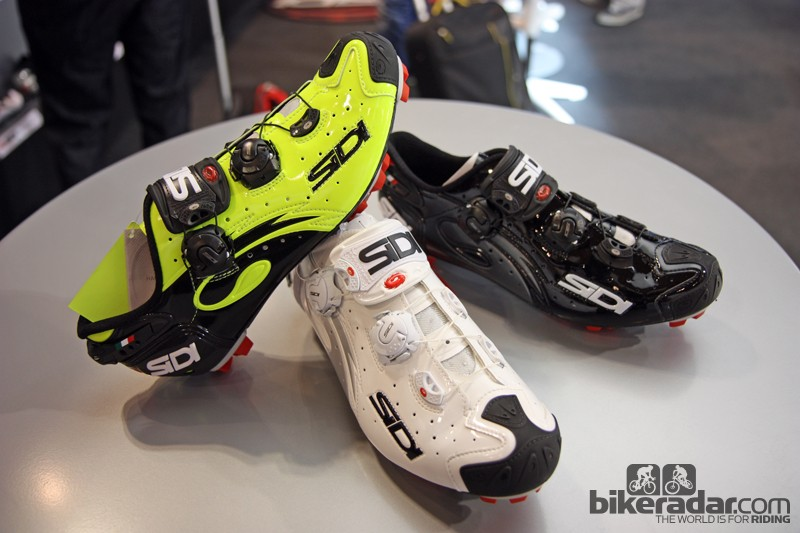 The new Sidi Drako will be made in several different colors but, like the road version, not all will be available everywhere