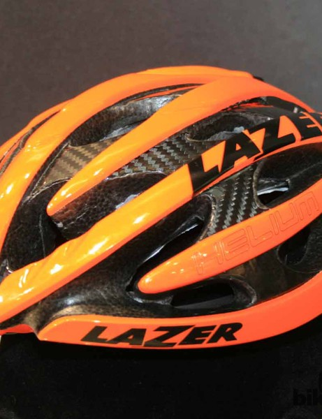 The Helium road helmet gets a revamp for 2013
