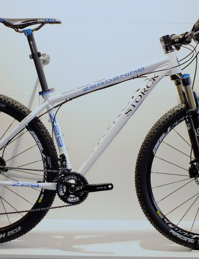 As well as embracing the new 650b wheel size, Storck have unveiled their new offering in the 29er format - the Zero 2 Nine