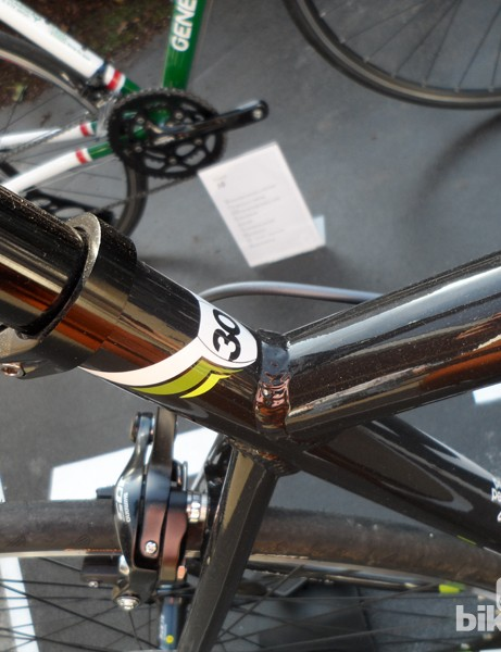 Oversized and butted aluminium tubing on the new Genesis Volant series