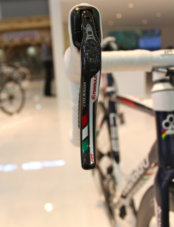 The new C59 Disc Campagnolo EPS Formula shifters