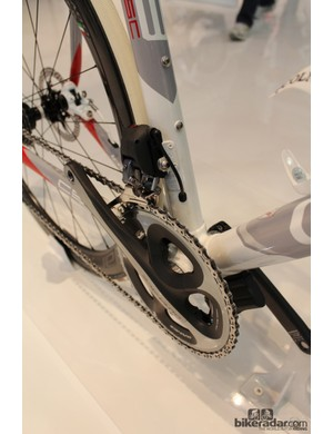 Colnago's Formula levers work with electric drivetrains