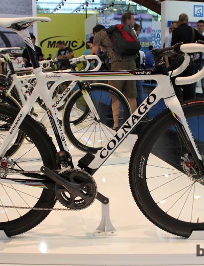 The Prestige cyclocross bike with Shimano Ultegra Di2