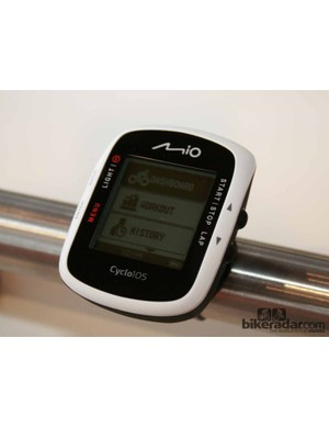 The Mio Cyclo 100 series starts with the €139.99 100 model, topping out at €239.99 for the heart rate/cadence equipped 105 HC