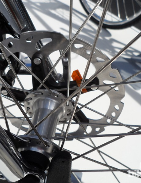 Cooper's Avus relies on disc brakes for stopping duties