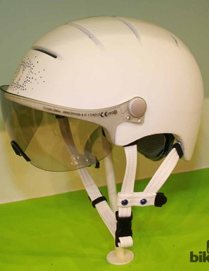 The city helmets in collaboration with Swarowski won't be released until this time next year