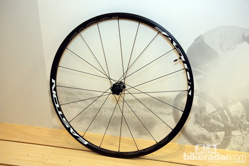 New for 2013 from Easton is the new EA90 XD disc 'cross wheelset, using the same rim as the EA90 RT tubeless road wheels
