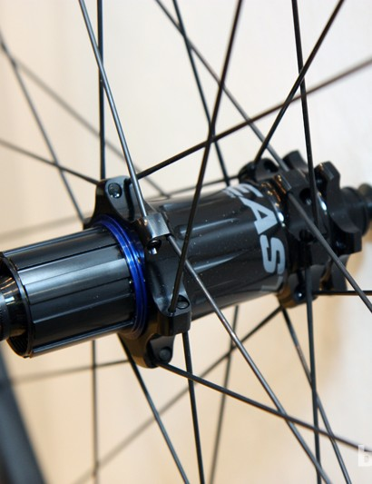 The Easton EC70 Trail hubs can be converted to a wide range of axle fitments front and rear
