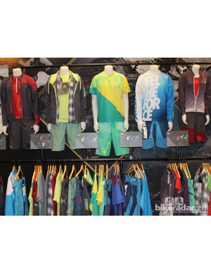 Ion's surf style transfers to their bike wear