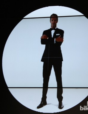 A screen shot from the Bond promo video