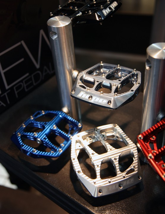 Naturally, Hope will offer the new pedals in the company's usual wide range of anodized colors.