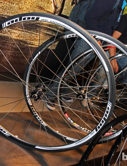 Hope will have a full range of road and 'cross wheels for use with disc brakes for 2013.