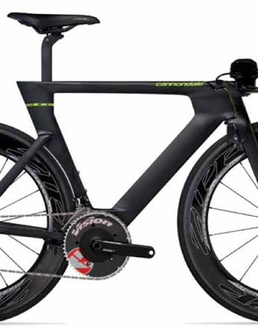 Cannondale's new Slice RS strikes an unusual profile but it's apparently heaps faster through the air than the previous version