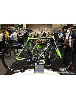 Interestingly, Cannondale's SuperX Hi-Mod flagship model will only be offered with disc brakes for 2013. The Cannondale-Cyclocrossworld.com team will also be using disc brakes across the board this season, too