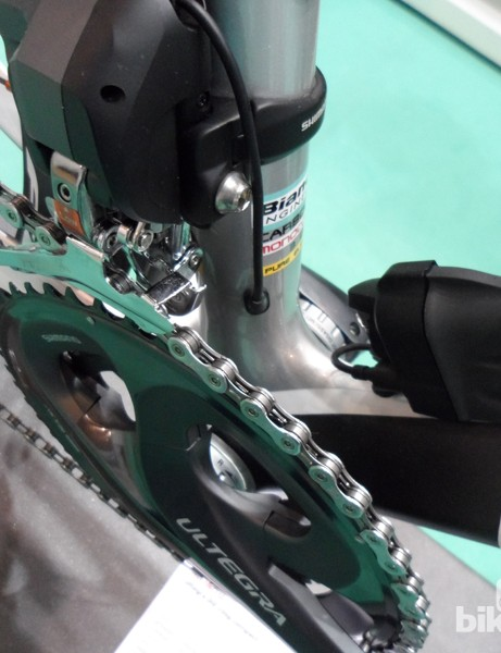 The Infinito frame is now optimised for electronic drivetrains