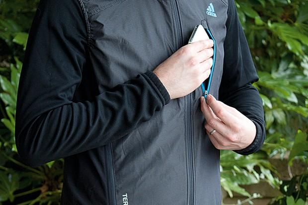 Adidas Terrex Hybrid softshell gilet