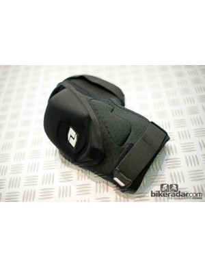 The Conflict knee pads use a neoprene foam cup to protect you