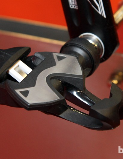 New for 2013 is the Time Xpresso road pedal, which retains the 'pre-open' easy entry concept of the iClic but in a more refined design. The new stainless steel wear plate should greatly improve durability, too