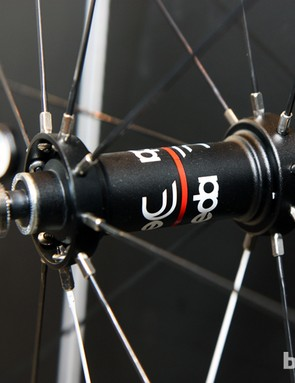 Moving the nipples to the hub reduces the inertia of Deda's new road wheels while still allowing for durable brass construction