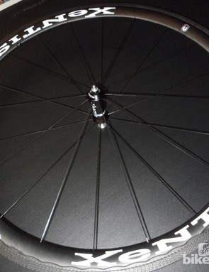 The Squad 4.2 clincher wheelset weighs in at a claimed 1,394g