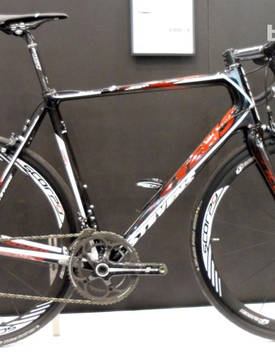 The Campag Chorus equipped Ventoux will set you back 4,858 Euros