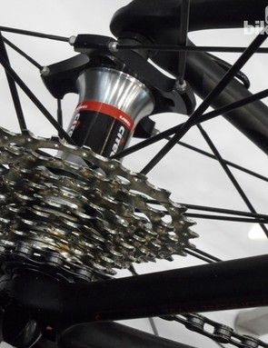 The Xenon's new Citec wheels have unique straight-pull hub flanges