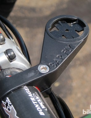 Tate Labs' Bar Fly is yet another option for mounting your Garmin Edge in front of your stem