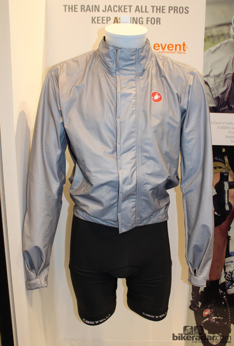 The Pocket Liner Jacket uses eVent fabric, which is waterproof and breathable