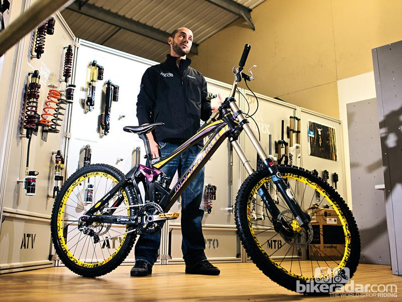 Fabien Barel has been a long-time partner with Mondraker