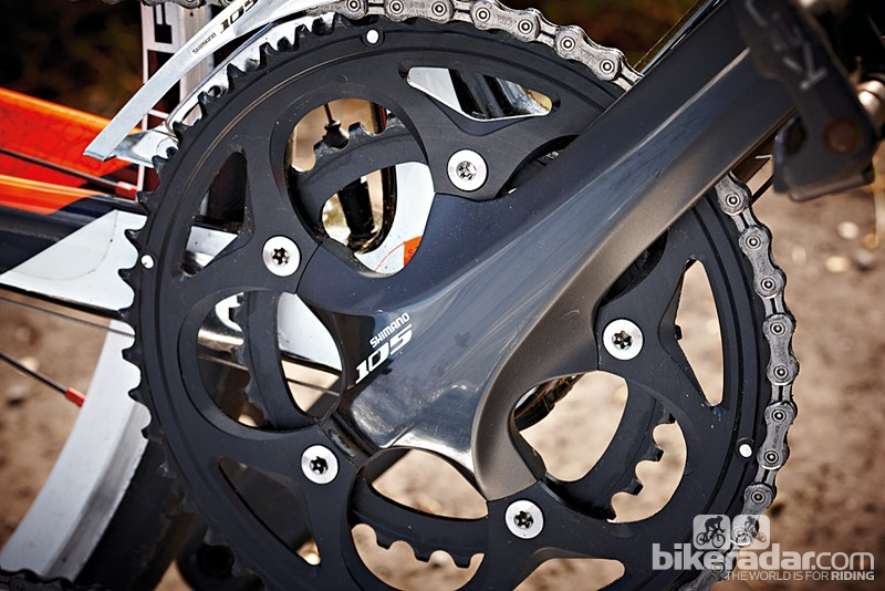 Shimano 105 is a decent drivetrain for this kind of money