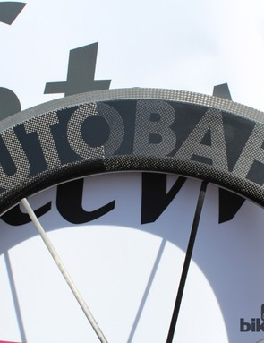 The Autobahn is an eight-spoke wheel. Yes, eight
