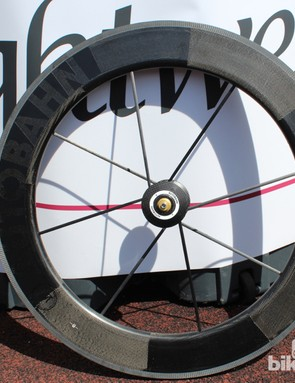 The 81mm tall tubular is designed to be used with a disc in the rear
