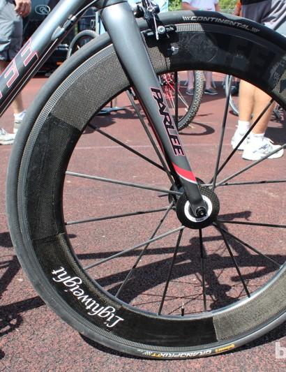 The Fernweg 16-spoke front wheel