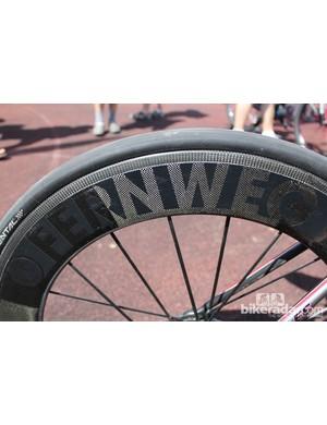 The Fernweg 20-spoke front wheel