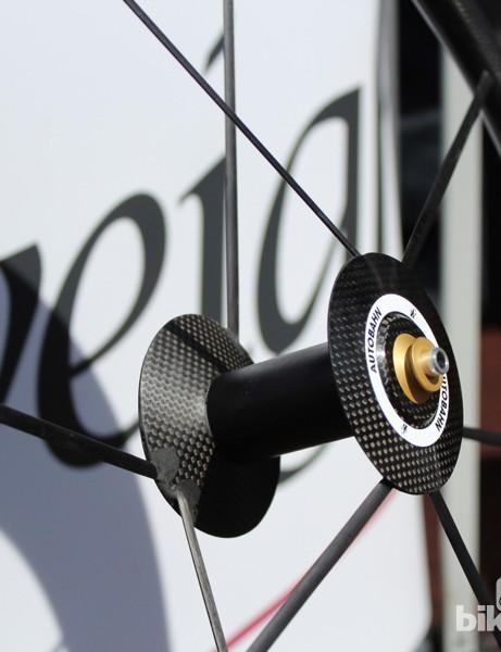 The eight-spoke design is striking