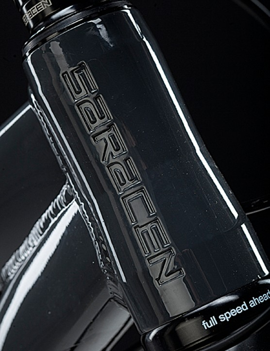 The 2012 Zen is half a degree slacker in the head tube than its older siblings