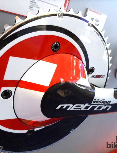 Vision's Metron chainset is wind tunnel honed
