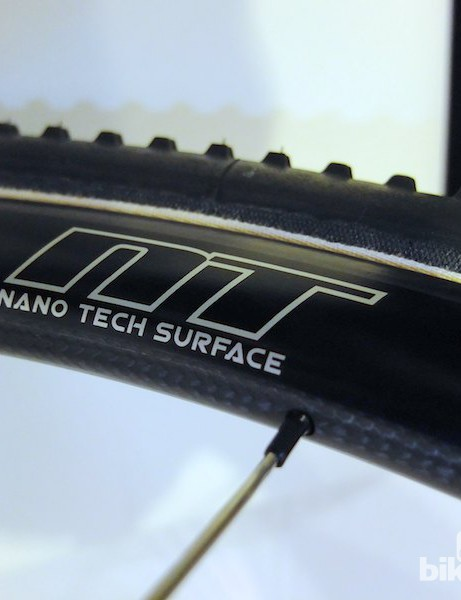 The Nano Tech surface on all USE's new wheels cheats the wind and sheds mud and water
