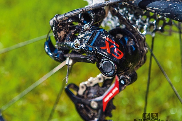 SRAM X9 Type 2 rear mech