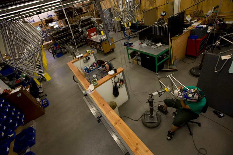 Moots in Colorado has built a loyal following for its titanium bikes