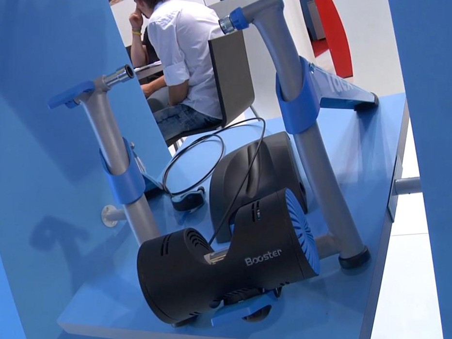 The Booster, part of Tacx's new Blue range, is an evolution of the popular Satori trainer