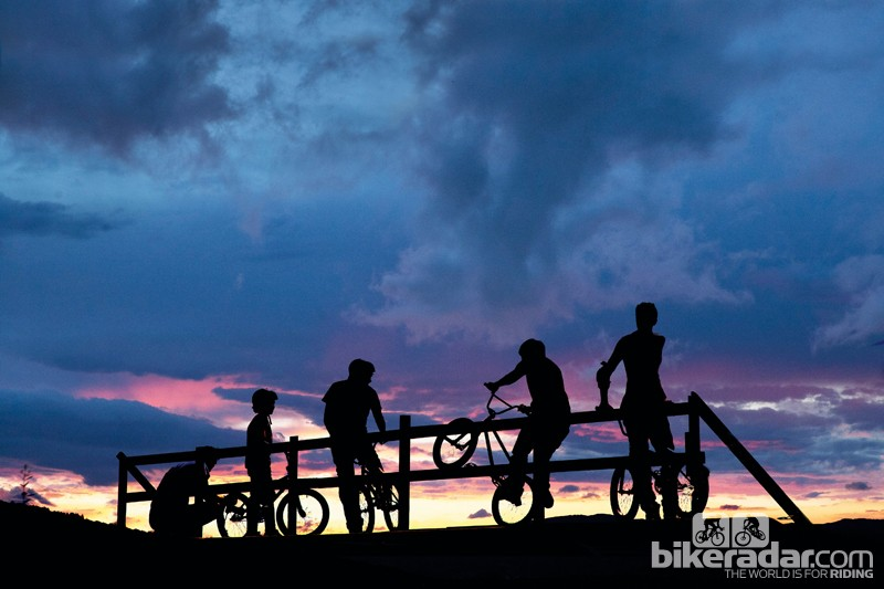 Children are ideal candidates for BMX riding –the simple bikes can offer a great route into cycling