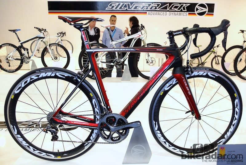 The Scalera is an eye-catching bike, and the Scalera 1 weighs in at 7.2kg (15.8lb)