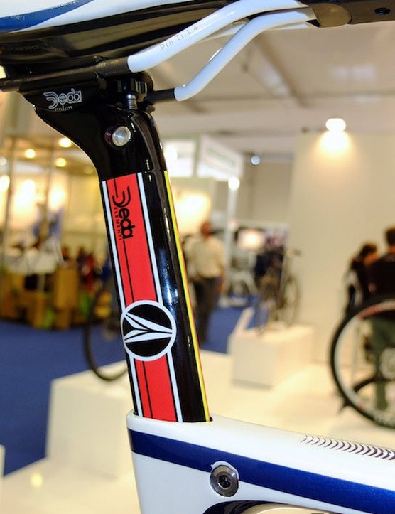 The mid-range Scalera 2 has an alloy Deda cockpit