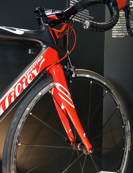 The new Wilier Triestina Zero.9 uses the same tapered head tube dimensions as the ultralight Zero.7